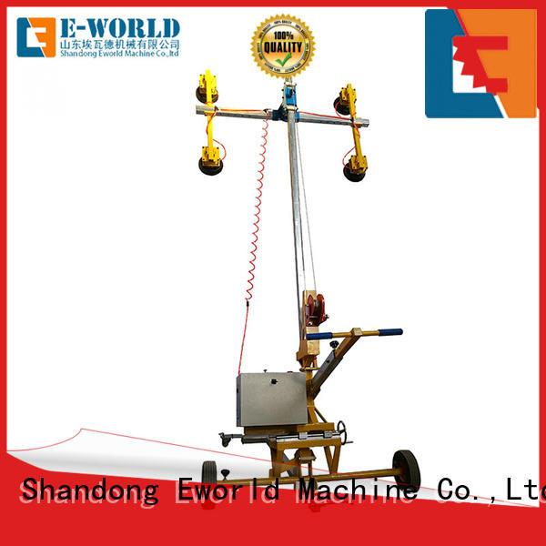 glass vacuum lifting equipment curved for distributor Eworld Machine