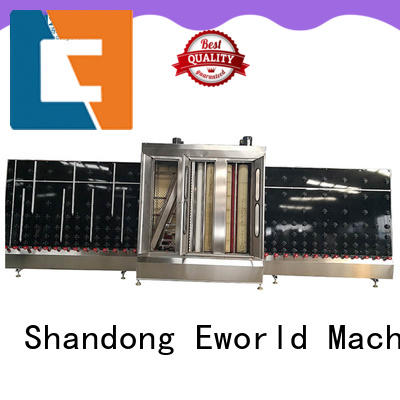 Eworld Machine open glass cleaning machine factory for industry
