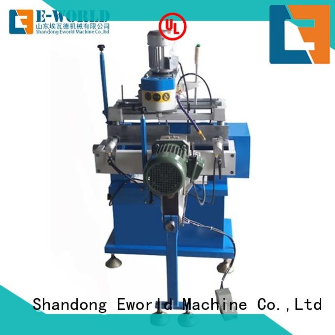 Eworld Machine saw upvc windows and doors machinery order now for importer