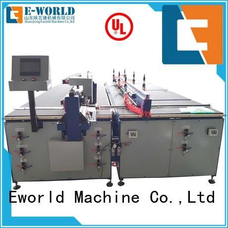Eworld Machine good safety cnc glass cutting machine dedicated service for machine