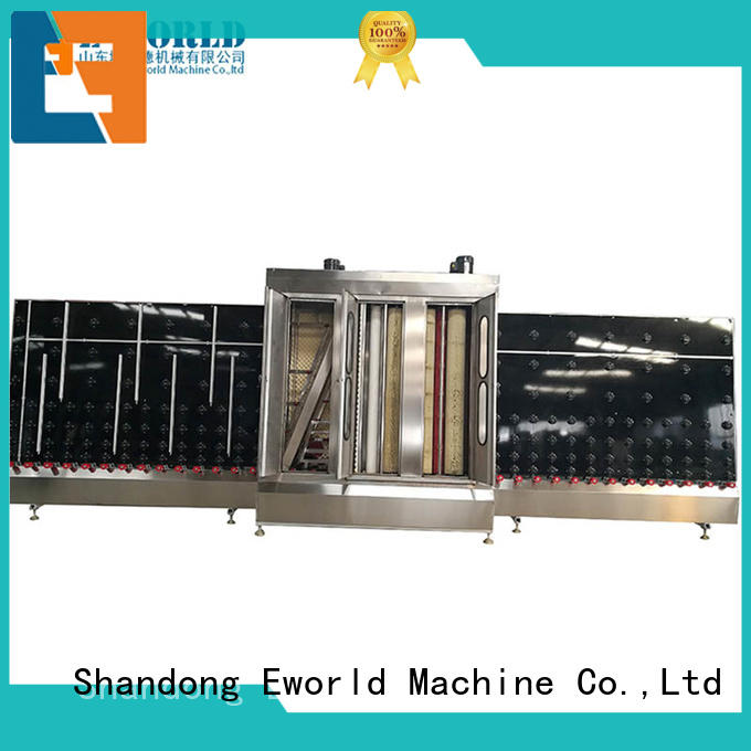 Eworld Machine open automatic glass washing and drying machine factory for distributor