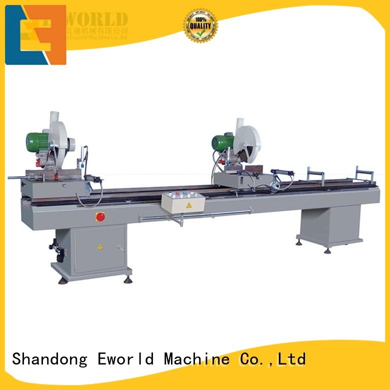 Eworld Machine customized upvc door making machine supplier for manufacturing