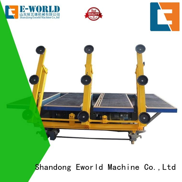Eworld Machine arc laminated glass cutting machine foreign trader for industry
