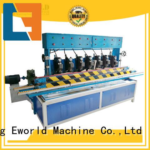 Eworld Machine beveling glass edge machine supplier for manufacturing