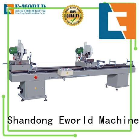Eworld Machine new pvc manufacturing machine order now for industrial production