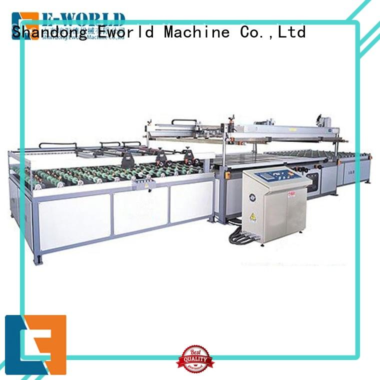 technological glass silk screen printing machine printing trader for industrial production