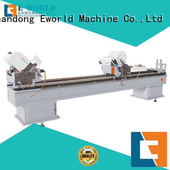 Eworld Machine latest upvc cutting machine supplier for industrial production