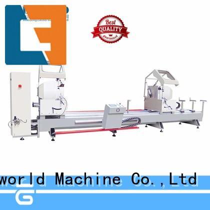 Eworld Machine saw aluminium corner crimping machine manufacturer for manufacturing