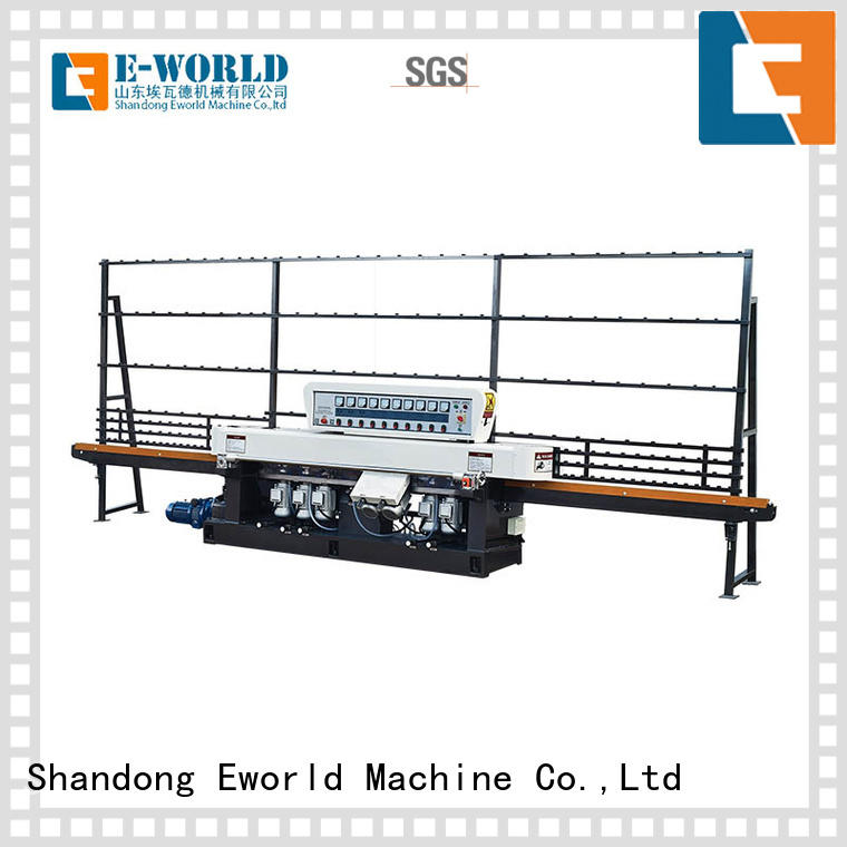 trade assurance cnc glass polishing machine supplier for manufacturing Eworld Machine