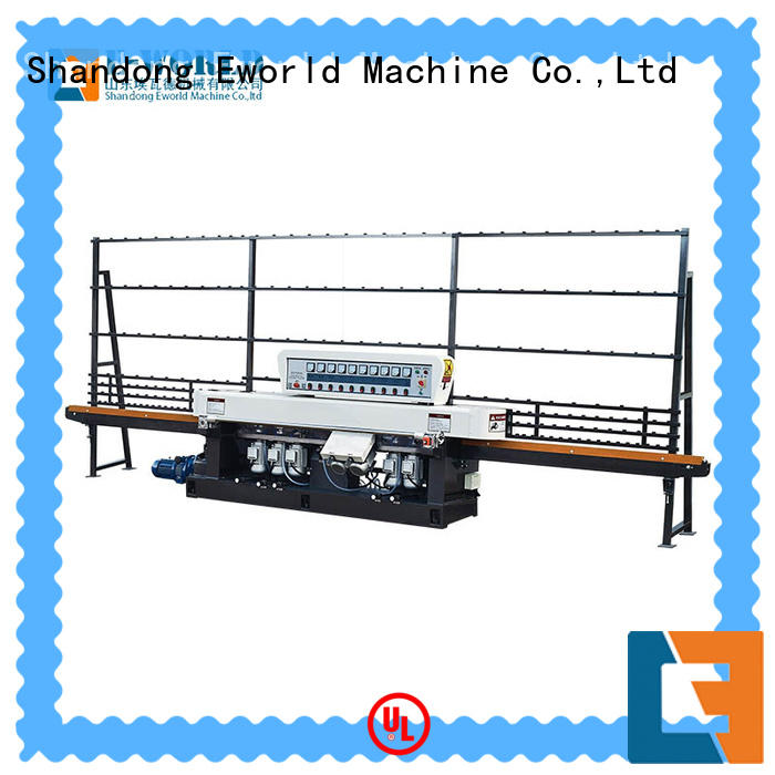 Eworld Machine glass glass edging machine price OEM/ODM services for manufacturing
