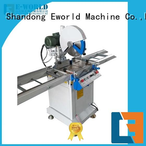 Eworld Machine making upvc door making machine supplier for manufacturing