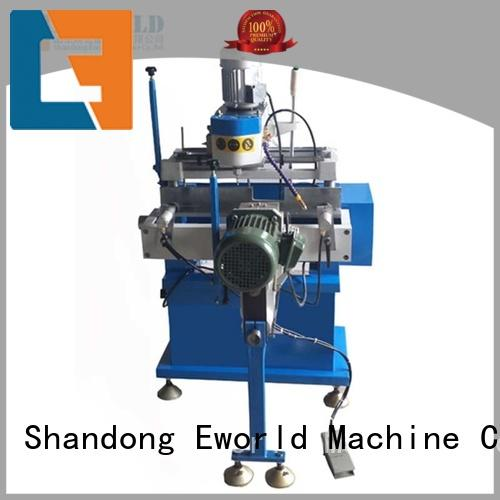 Eworld Machine new upvc welding machine price factory for industrial production