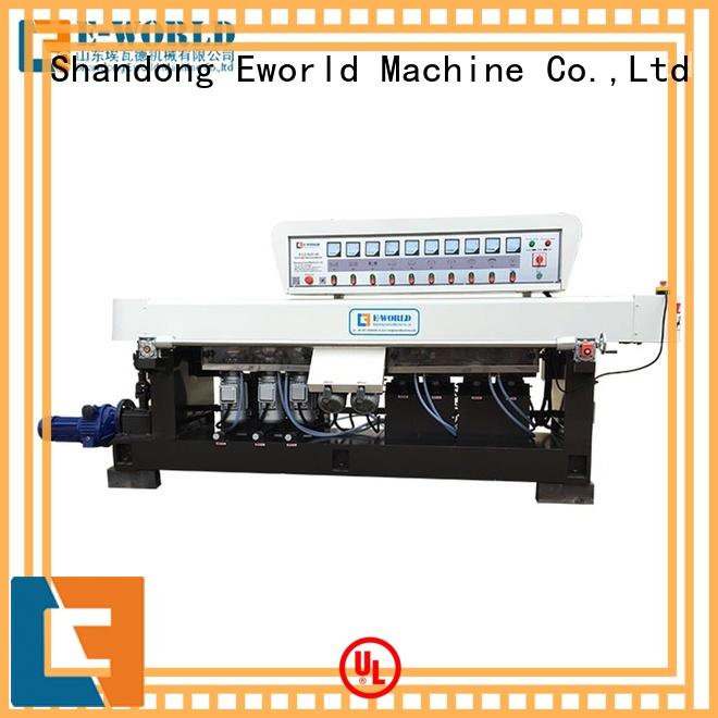 Eworld Machine side glass edging machine price OEM/ODM services for manufacturing