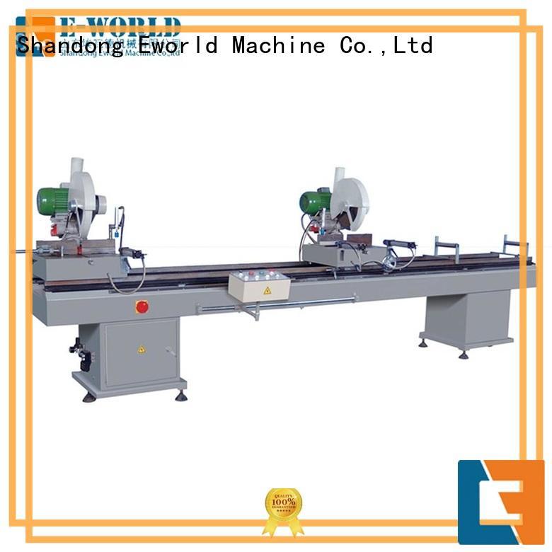 Eworld Machine profile pvc window fabrication machine supplier for importer