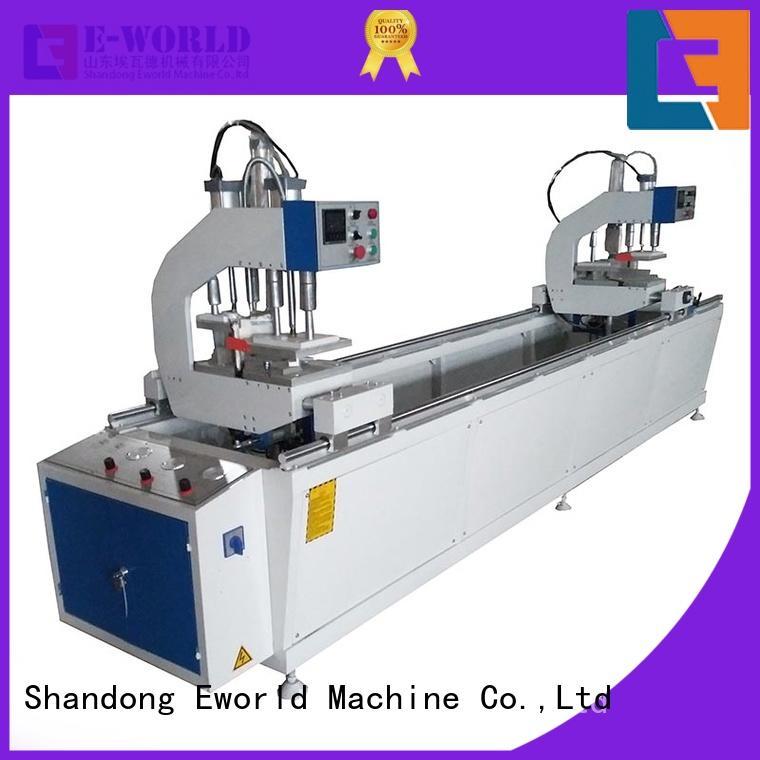 Eworld Machine head pvc window&door making machine supplier for industrial production