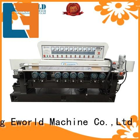 Eworld Machine trade assurance glass edge processing machinery OEM/ODM services for industrial production