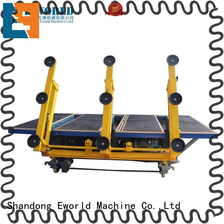 Eworld Machine round automatic glass cutting machine foreign trader for industry
