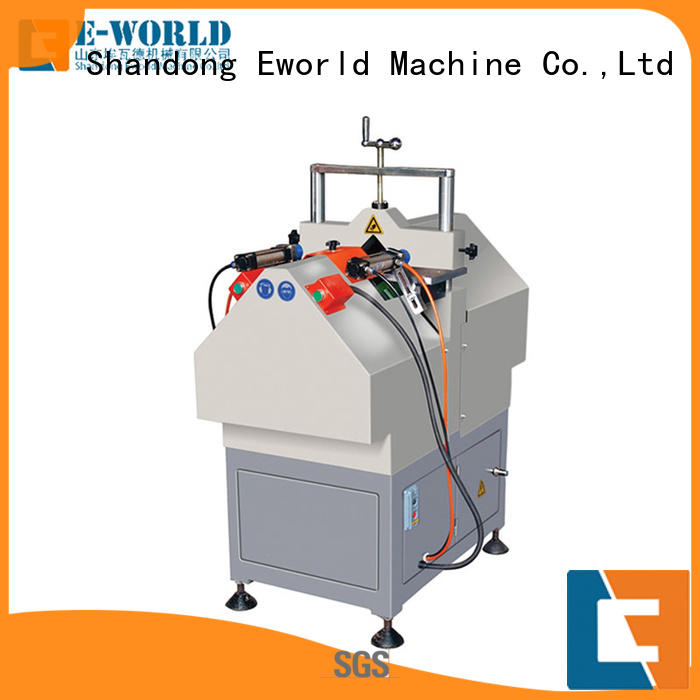 Eworld Machine bead upvc windows and doors machinery order now for industrial production
