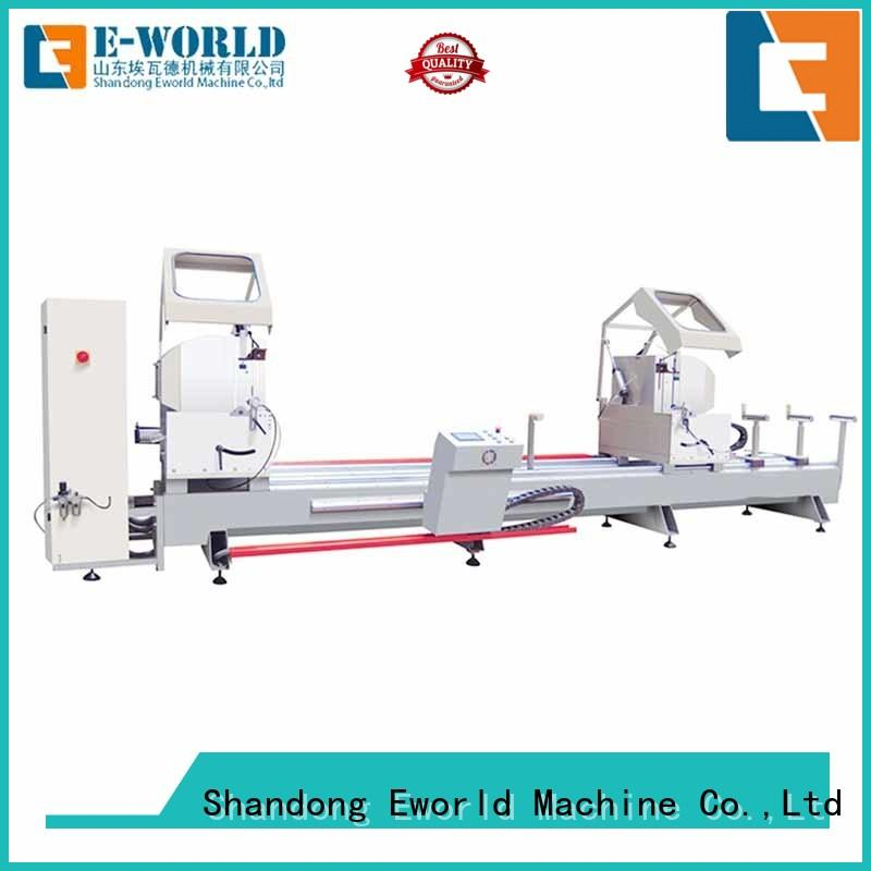 Eworld Machine aluminum aluminum windows hardware punching machine supplier for industrial production