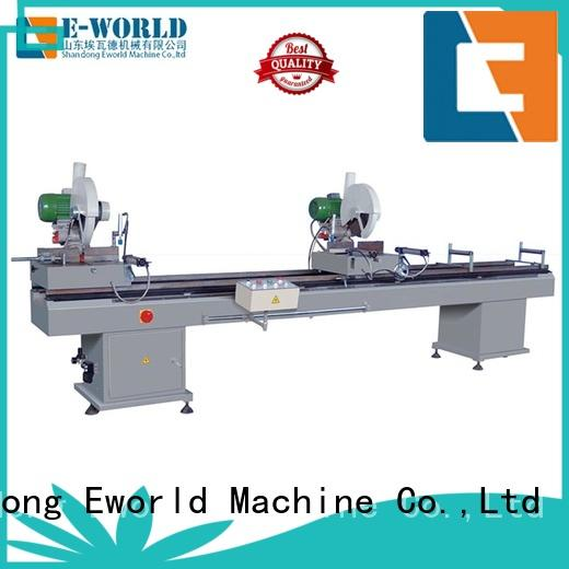 Eworld Machine customized upvc cutting machine supplier for industrial production
