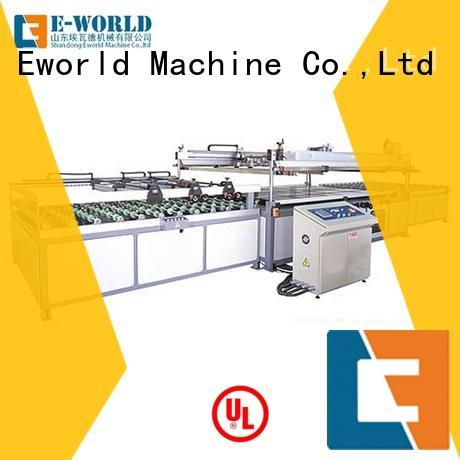 Eworld Machine technological auto glass screen printing machine manufacturer for manufacturing