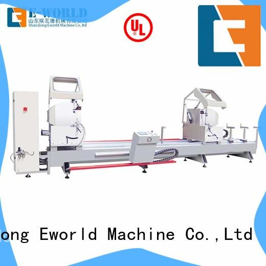 Eworld Machine end aluminium corner crimping machine manufacturer for manufacturing