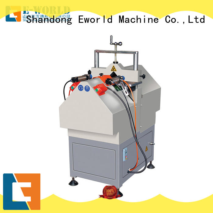 Eworld Machine welding UPVC window door machine supplier for importer