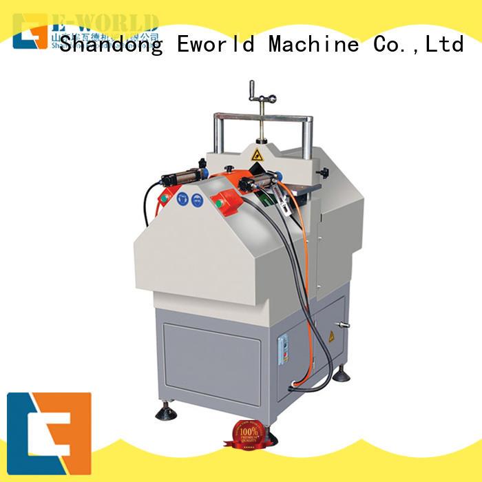 Eworld Machine welding UPVC window door machine supplier for importer