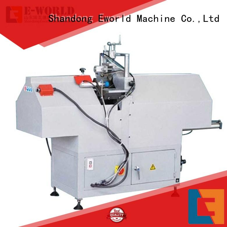 Eworld Machine double upvc welding machine china supplier for industrial production