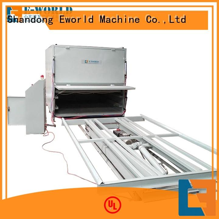 Eworld Machine fine workmanship glass laminating equipment order now for manufacturing