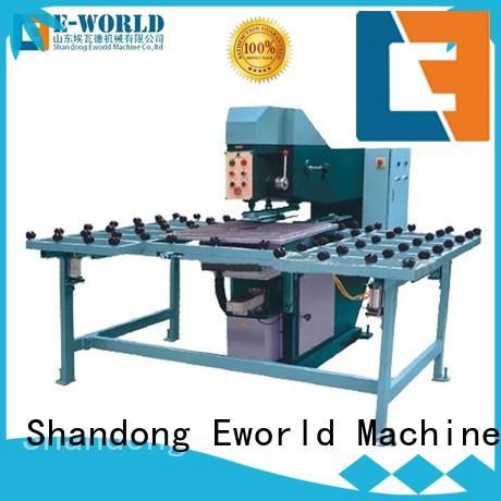 Eworld Machine customized glass drilling machine price maker for distributor