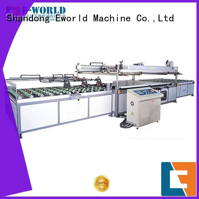 auto glass screen printing machine printing for industrial production Eworld Machine