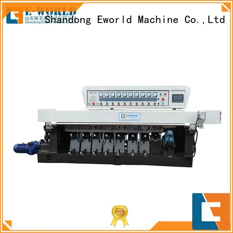 Eworld Machine round small glass beveling machine manufacturer for global market
