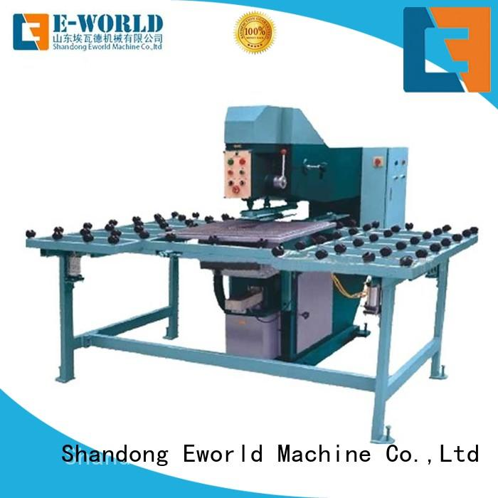 Eworld Machine automatic vertical glass drill machinery supplier for distributor