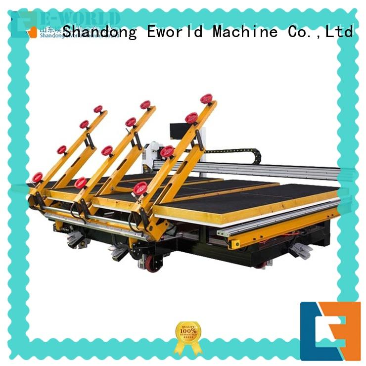 Eworld Machine size laminated glass cutting machine foreign trader for sale