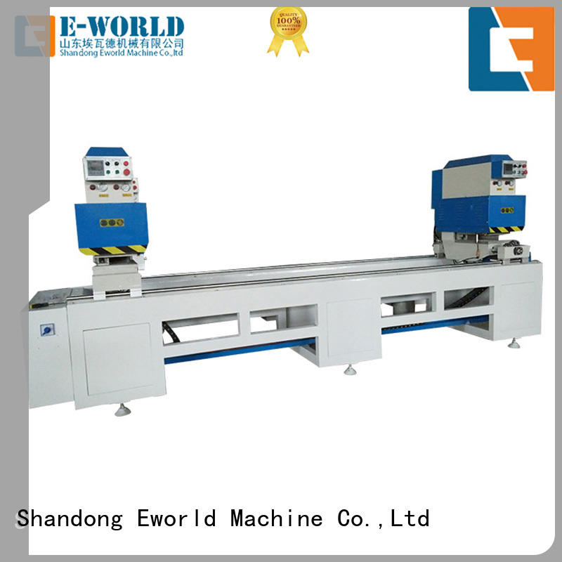Eworld Machine doorwindow PVC window production line order now for industrial production