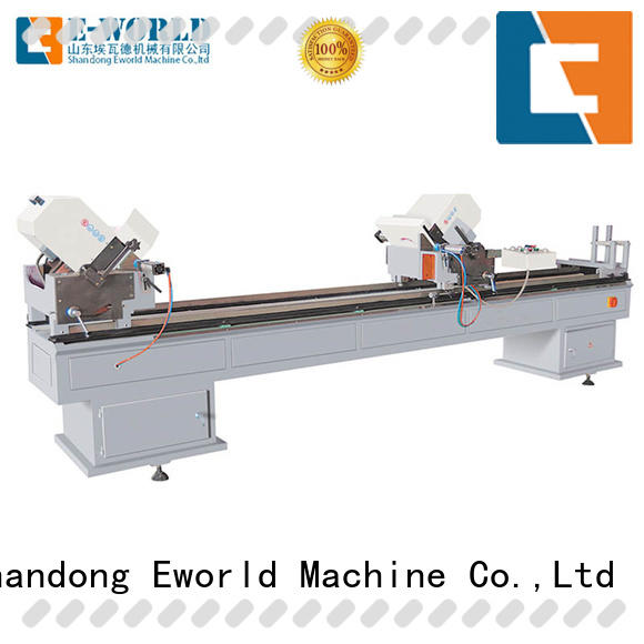 Eworld Machine latest PVC window production line factory for industrial production