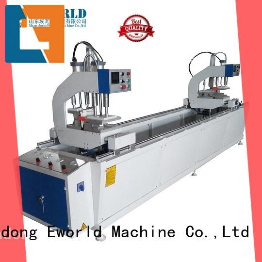 Eworld Machine new upvc windows and doors machinery factory for manufacturing