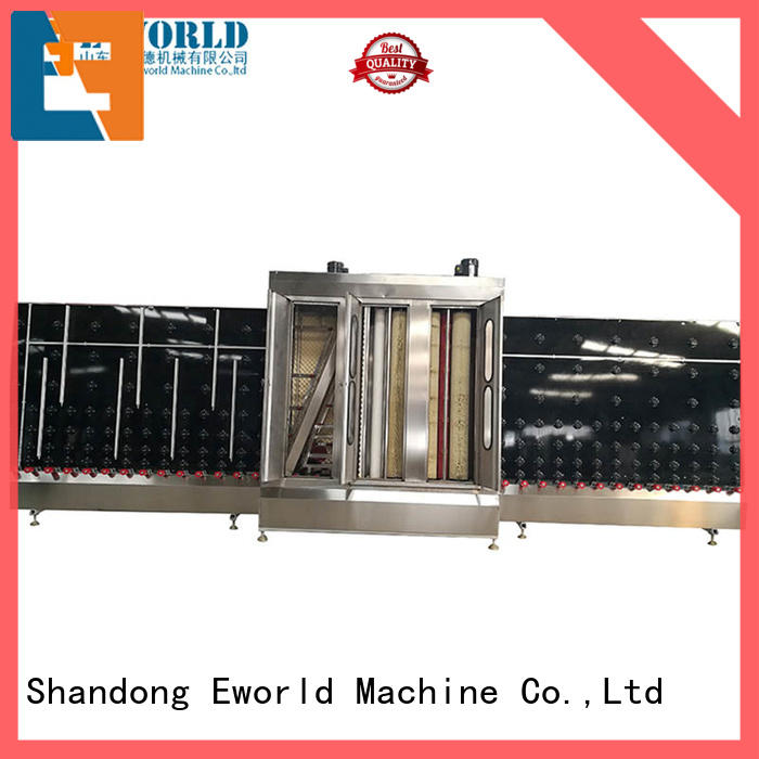 Eworld Machine trade assurance industrial glass washing machines supplier for industry