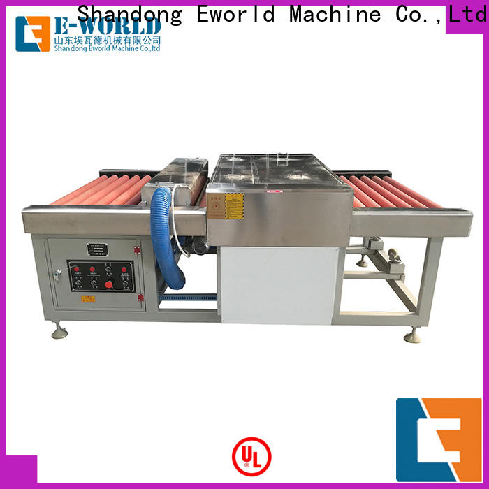 technological automatic glass washing machine glass supplier for manufacturing