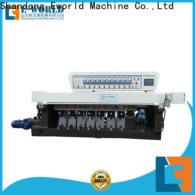 Eworld Machine trade assurance glass edge polishing machine OEM/ODM services for industrial production