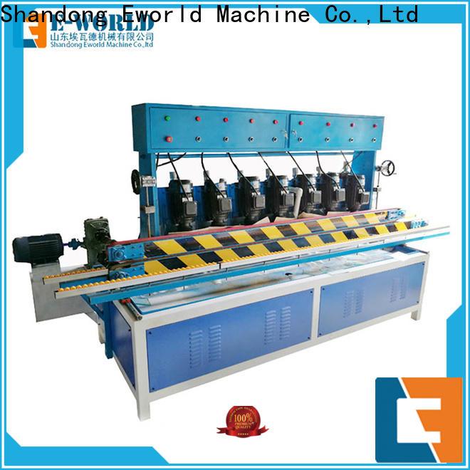 Eworld Machine fine workmanship glass beveling machine for sale OEM/ODM services for global market