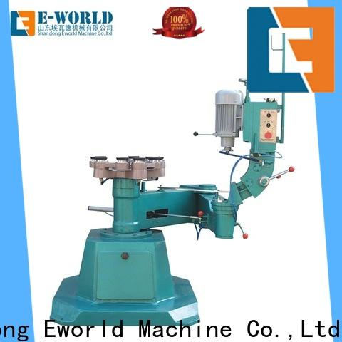 Eworld Machine fine workmanship glass beveling polishing machine OEM/ODM services for manufacturing