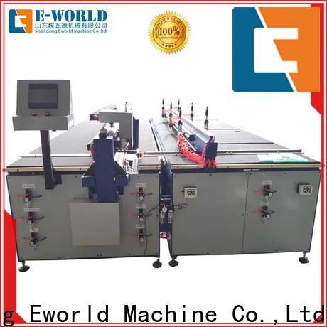 Eworld Machine good safety glass cutting machine foreign trader for sale