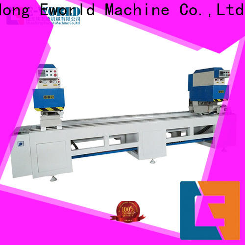 Eworld Machine latest upvc welding machine china order now for manufacturing