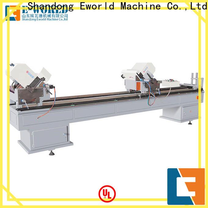 Eworld Machine head upvc window machine price order now for manufacturing