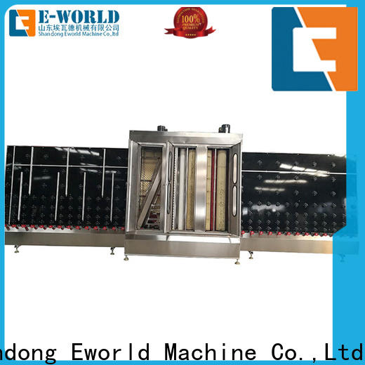 technological low-e glass washing machine vertical supplier for distributor