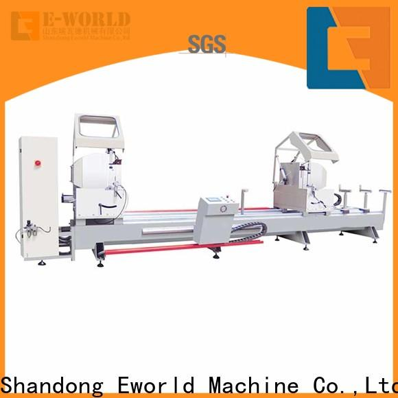 Eworld Machine end aluminium window crimping machine supplier for industrial production