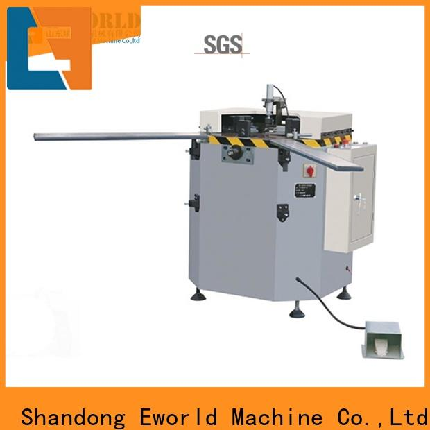 Eworld Machine fine workmanship aluminum window machine manufacturer for industrial production