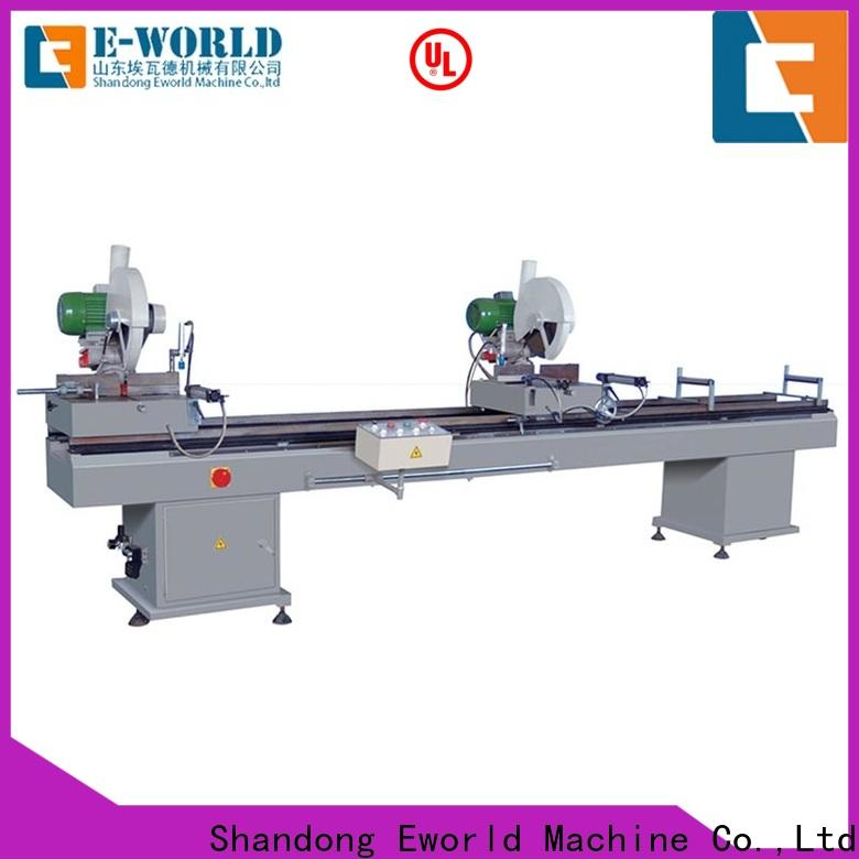 Eworld Machine welding upvc windows and doors machinery factory for industrial production